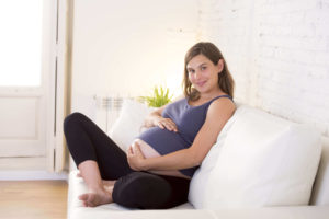 9 months pregnant