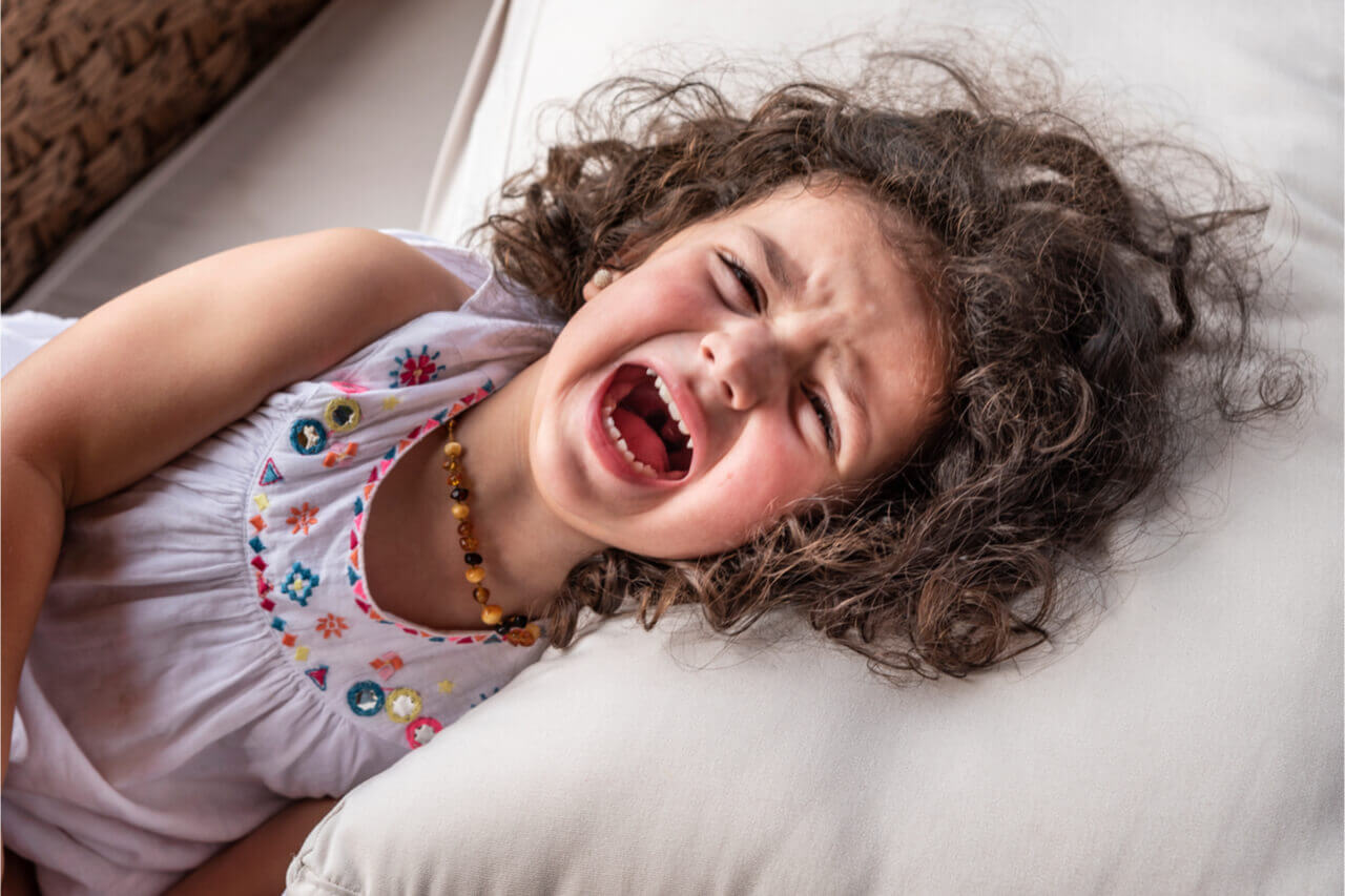 toddler teeth pain
