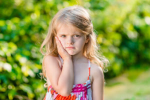 toddler toothache