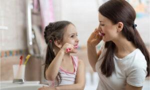 teaching oral care