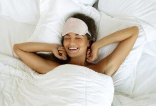 woman slept well